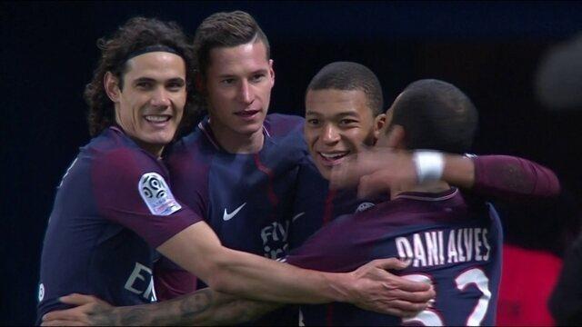 Os gols de PSG 3 x 1 Lille pela 17ª rodada do Campeonato Francês