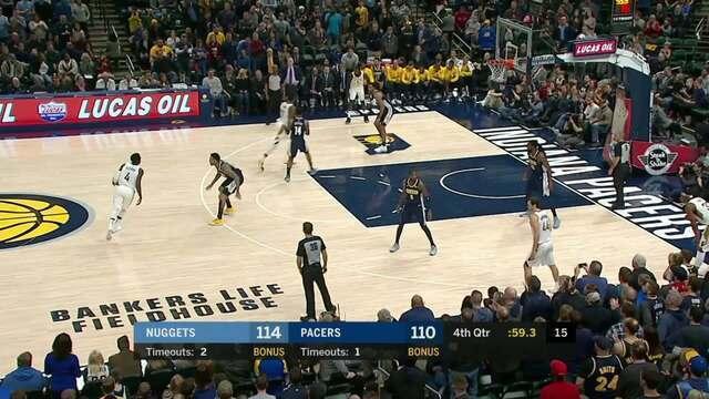 Melhores momentos: Denver Nuggets 116 x 126 Indiana Pacers pela NBA