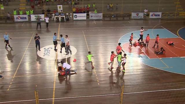 Gols da final da Copa TV Asa Branca sub-10