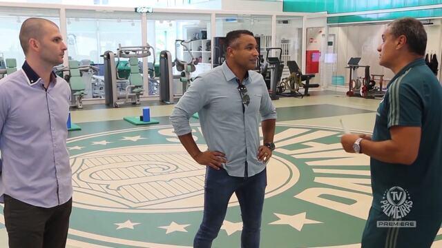 TV Palmeiras - O técnico Roger Machado conhece a estrutura do Palmeiras
