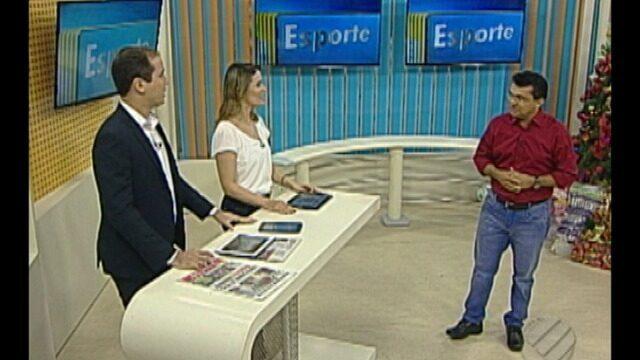 Carlos Ferreira comenta os destaques do esporte paraense nesta terça-feira (12)