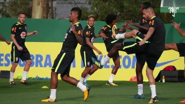 Seleção Brasileira - Treino em São Paulo (CT PALMEIRAS)