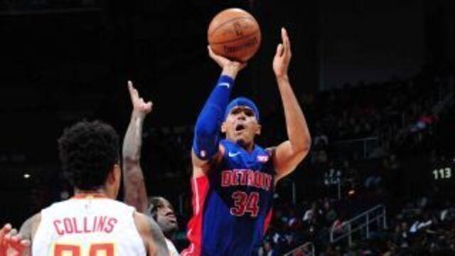 Melhores momentos: Detroit Pistons 105 x 91 Atlanta Hawks pela NBA