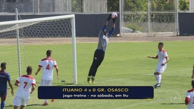 Ituano goleia Grêmio Osasco em jogo-treino