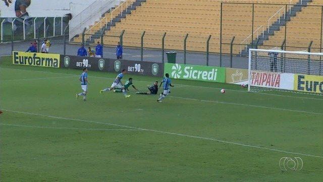 Goiás vence o Grêmio e avança na Copa São Paulo
