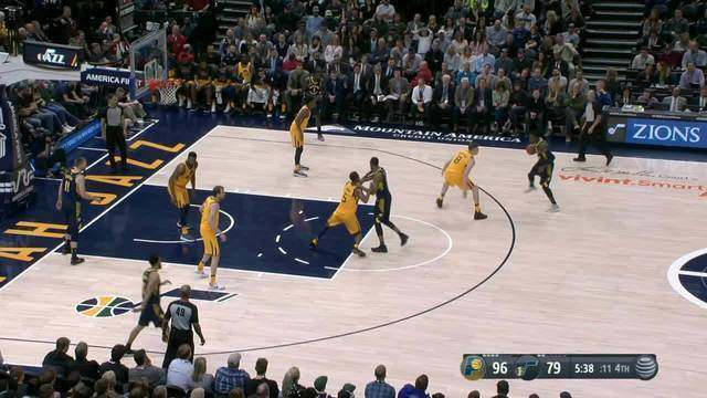 Melhores momentos: Indiana Pacers 109 x 94 Utah Jazz pela NBA