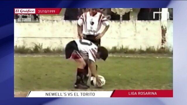 """Com fim anunciado, revista """"El Gráfico"""" tem vídeo-relíquia de Messi jogando com 12 anos"""