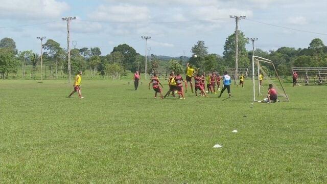 Real Ariquemes treina pensando nas estreias na Copa do Brasil e Copa Verde