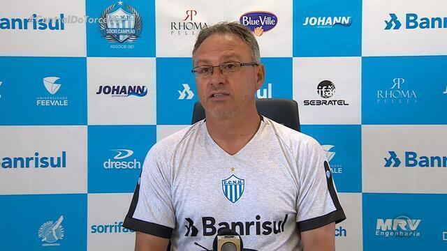 Com experiência em campeonatos gaúcho, Beto Campos fala de partida contra o Inter