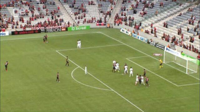 Confira os gols de Atlético-PR 2x1 Maringá, pela 1ª rodada do Campeonato Paranaense