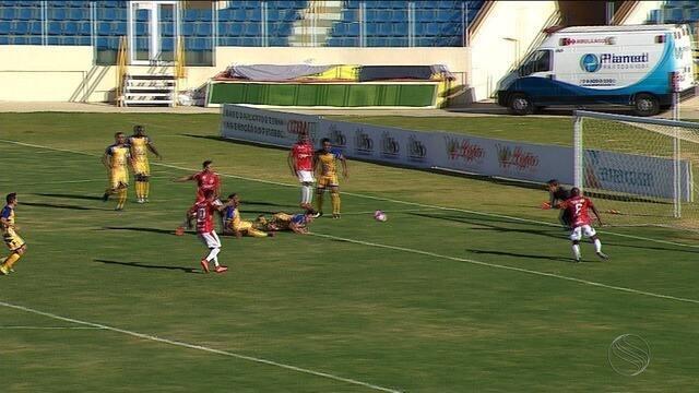 Sergipe derrota o Socorrense de virada; veja os gols!