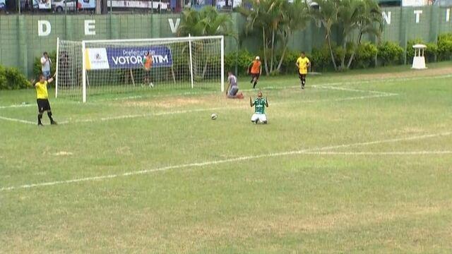 Os pênaltis de Flamengo 0 (2) x (4) 0 Palmeiras pela Copa Brasil Infantil