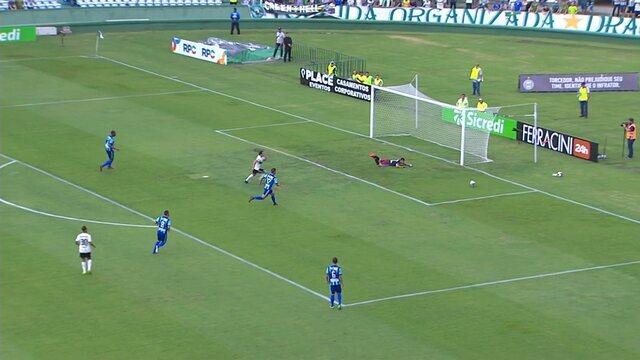 Veja os melhores momentos de Coritiba 1 x 1 Prudentópolis pela primeira rodada