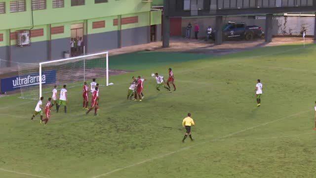 Gols da vitória do Rio Branco-AC diante o Andirá na abertura do Campeonato Acreano