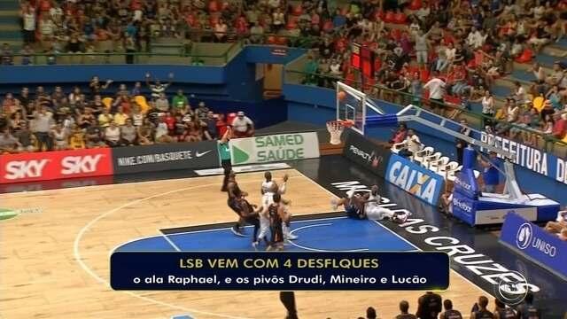 Liga Sorocaba embarca para o Ceará para novo compromisso pelo NBB