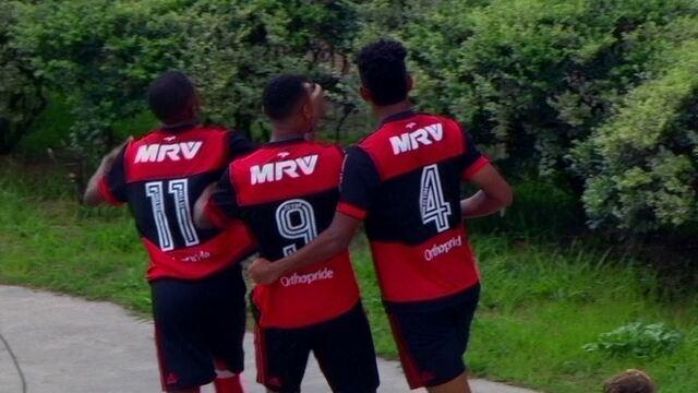 O gol de São Paulo 0 x 1 Flamengo pela Final da Copa SP de Futebol Júnior