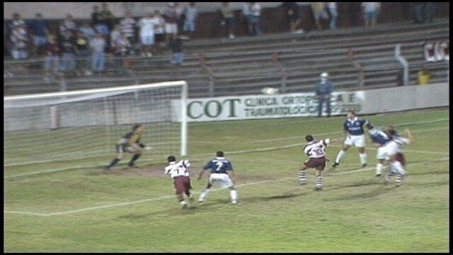 Os gols de Desportiva Ferroviária 2 x 1 Remo, pela Série B do Campeonato Brasileiro 1998