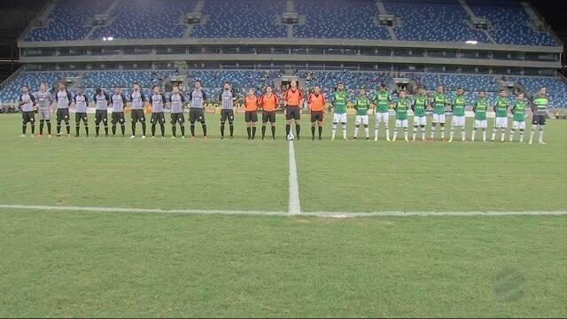 O Dourado tinha perdido por 1x0 no jogo de ida, mas na Arena Pantanal a história foi outra