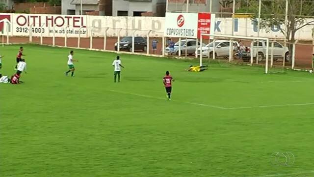 Fla Palmas bate o Gurupi no jogo de ida da final do Sub-14