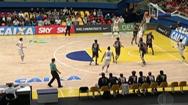 Mogi Basquete não faz partida brilhante, mas joga o suficiente para vencer o Joinville