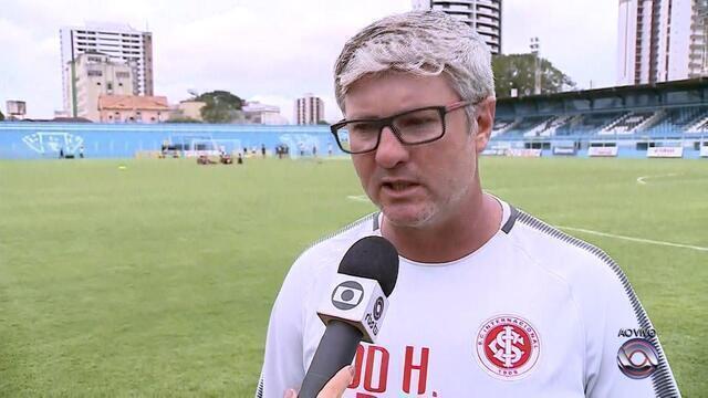Técnico Odair Hellmann fala sobre o jogo desta quarta-feira (21) pela Copa do Brasil