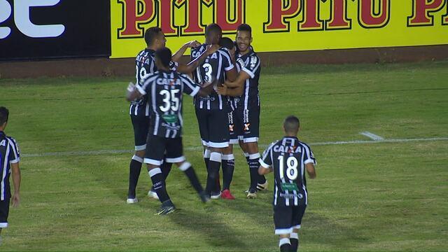 Veja os gols de Londrina 1 x 2 Ceará pela segunda fase da Copa do Brasil