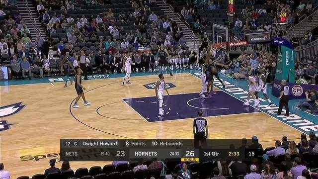 Melhores momentos: Hornets 111 x 96 Nets pela NBA