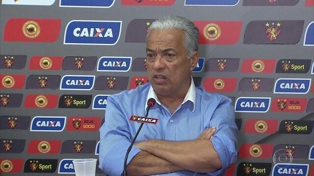Sport apresenta nova diretoria de futebol