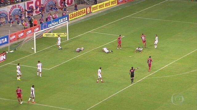 Fora de casa, Náutico perde para o Bahia pela Copa do Nordeste