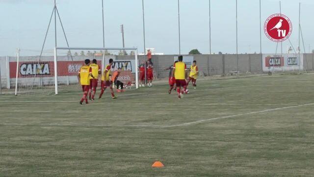 Confira o jogo-treino do CRB contra os garotos do Sub-20