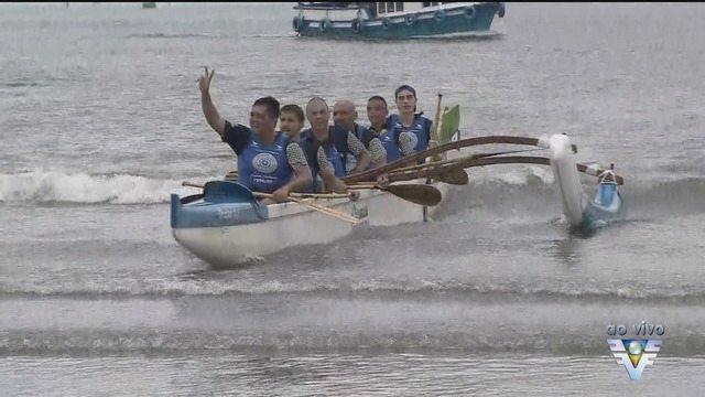 Santos recebe o 15º Desafio Volta à Ilha de Santo Amaro de Canoas Havaianas