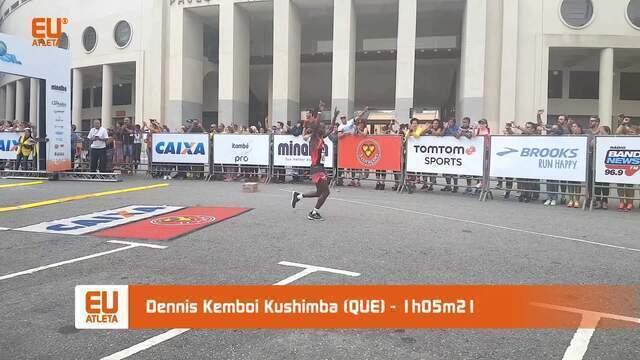 Confira imagens da Meia Maratona de São Paulo 2018