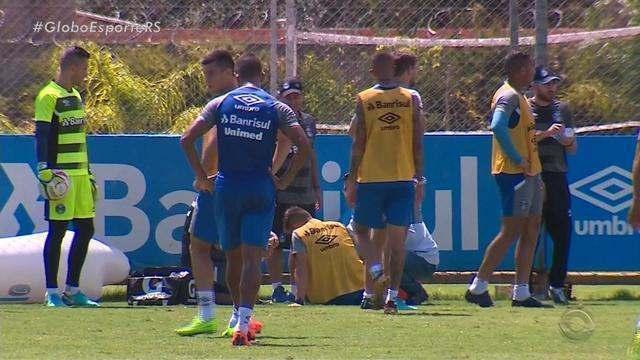 Renato faz mistério antes do Gre-Nal; Luan e Ramiro levam a pior em treino do Grêmio