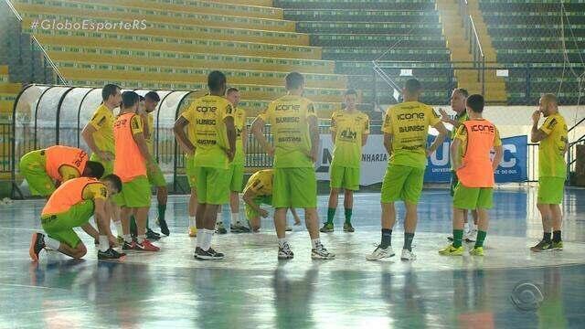 Três gaúchos fazem estreia na Liga Nacional de Futsal nesta semana