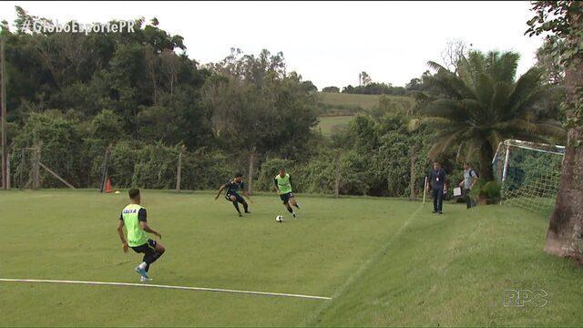 """Londrina quer sair da """"encruzilhada"""" no Campeonato Paranaense"""