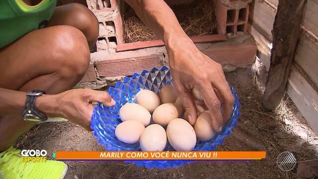 Corredora Marily Dos Santos é destaque também nas atividades domésticas