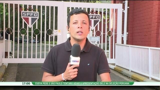 Cueva pede e São Paulo tentará adiar apresentação na seleção peruana