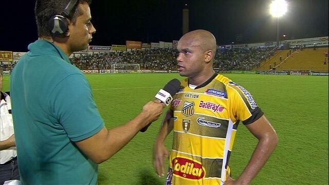 """Anderson Salles diz o que faltou para vencer o Palmeiras: """"Aproveitar melhor as chances"""""""