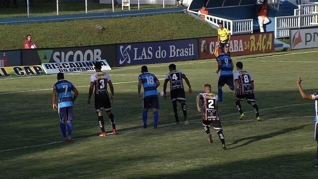 Os gols de Aparecidense 2 x 1 Anápolis - 14ª rodada do Campeonato Goiano