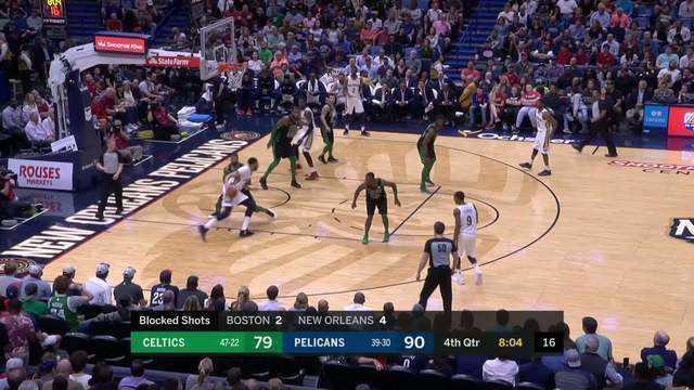 Melhores momentos: Boston Celtics 89 x 108 New Orleans Pelicans pela NBA