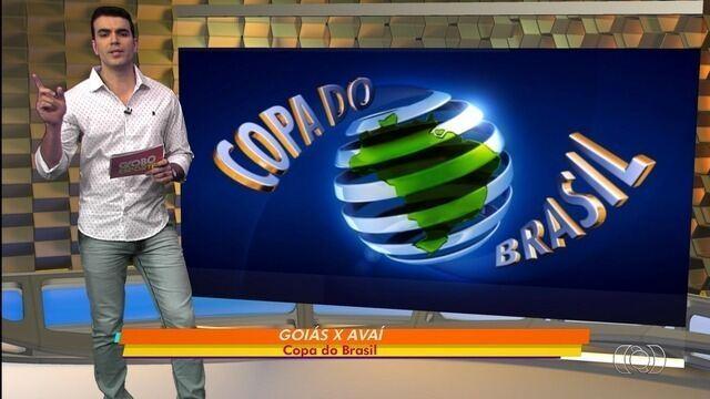 Goiás vai enfrentar o Avaí na quarta fase da Copa do Brasil