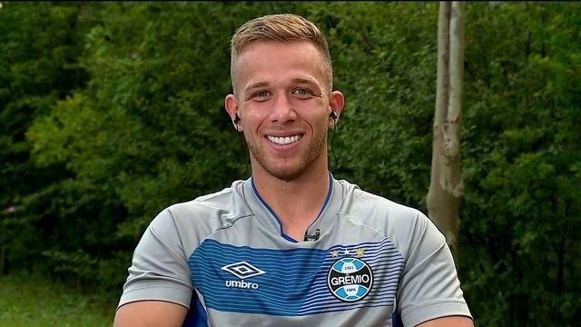 Arthur fala sobre Barcelona, Grêmio e Seleção Brasileira
