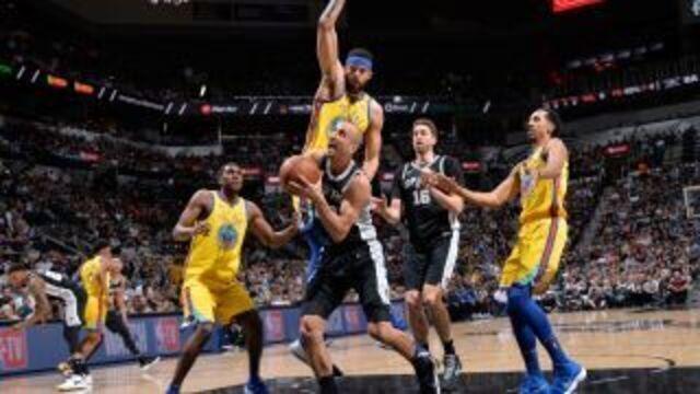 Melhores momentos: Warriors 75 x 89 Spurs pela NBA