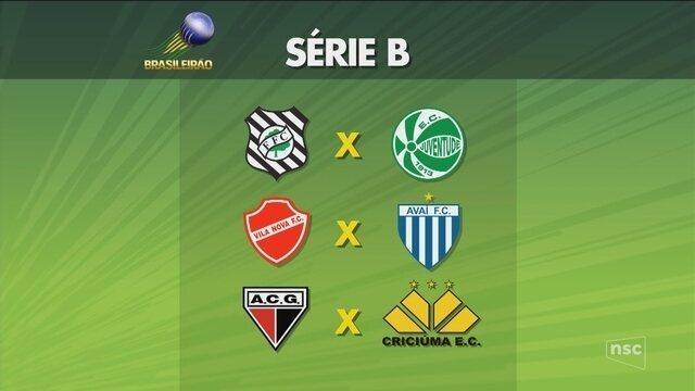 CBF divulga tabela detalhada da Série B; veja as estreias dos catarinenses