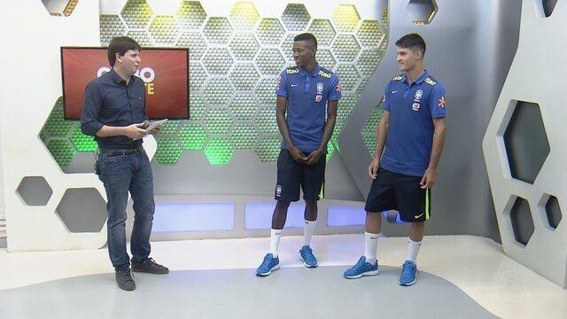 Entrevista: Vitão e Matheus Thelen falam sobre de jogo da seleção sub-20 em Manaus