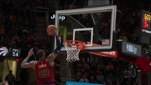 Noite de recorde em Nova York, noite de rei em Cleveland: a rodada da NBA