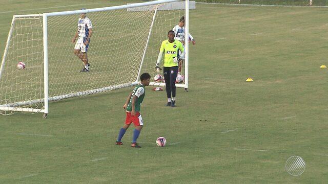 Bahia faz treino preparatório para enfrentar o Juazeirense na semifinal do Baianão 2018