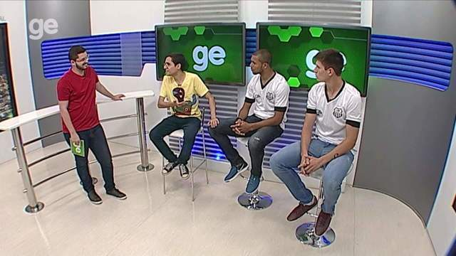 Torcedor GE recebe Danilo Quipapá e Vitão