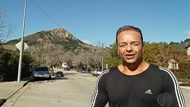 Pedro Vieira mostra treino na Califórnia durante as férias