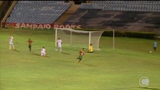 River-PI encerra preparação para jogo da Pré-Copa do Nordeste, contra o Sampaio Corrêa